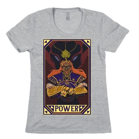 Power - Ganondorf Womens T-Shirt