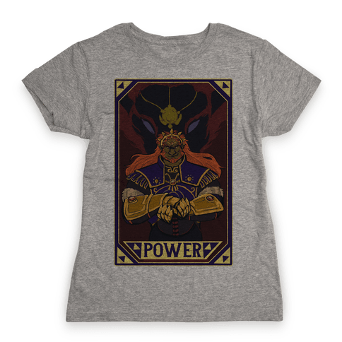 Power - Ganondorf Womens T-Shirt
