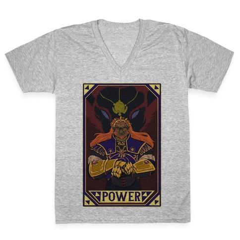 Power - Ganondorf V-Neck Tee Shirt