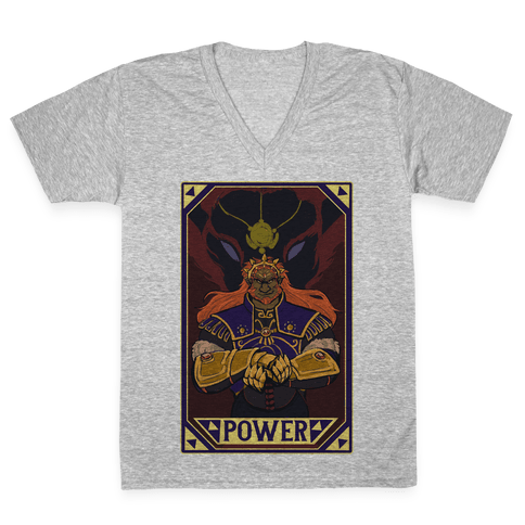 Power - Ganondorf V-Neck Tee Shirt