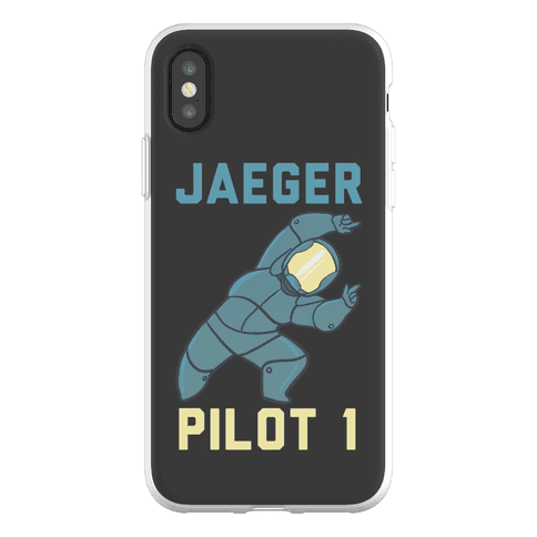 Jaeger Pilot 1 (1 of 2 Pair) Phone Flexi-Case