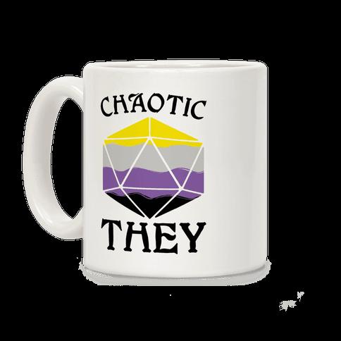 Chaotic They Coffee Mug