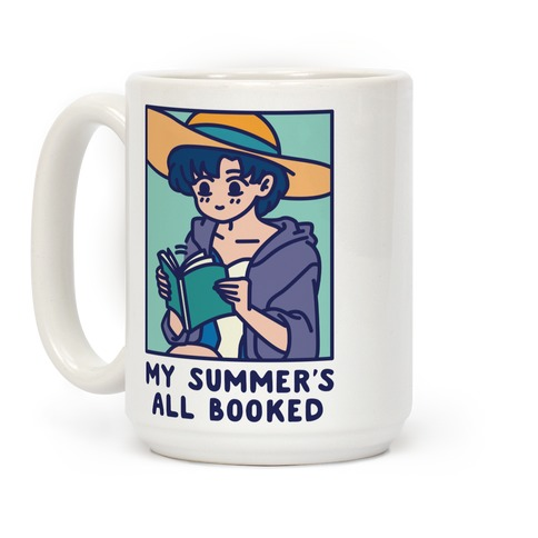 My Summer's All Booked Ami Coffee Mug
