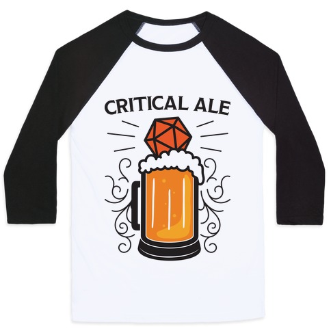 Critical Ale Baseball Tee