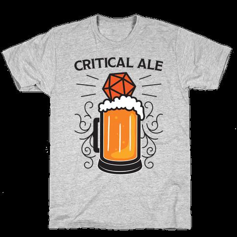 Critical Ale Mens/Unisex T-Shirt