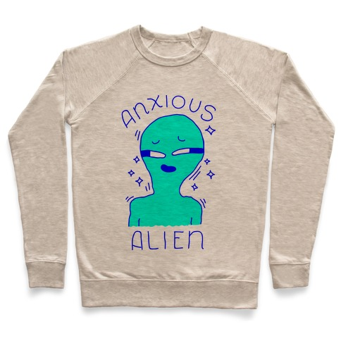 Anxious Alien Pullover