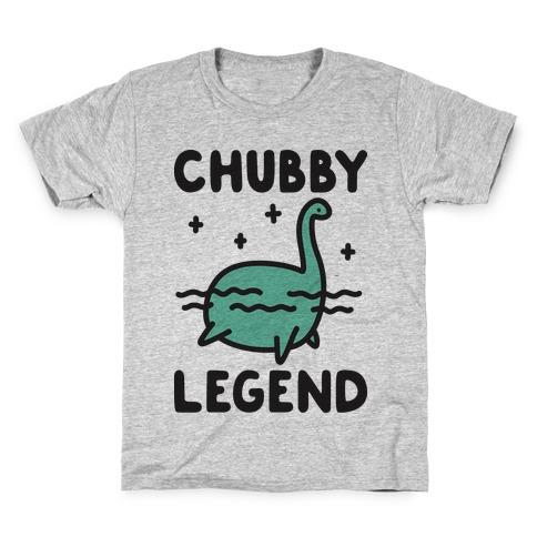 Chubby Legend Nessie Kids T-Shirt