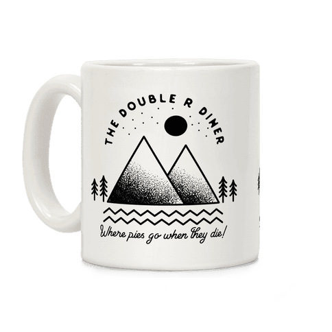 The Double R Diner Black Coffee Mug