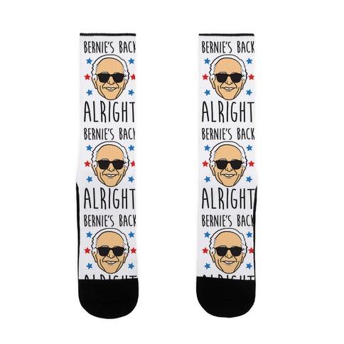 Bernie's Back Alright Sock