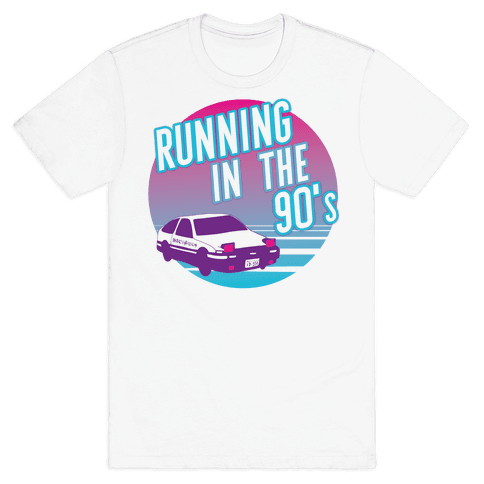 Running in the 90's  Mens T-Shirt
