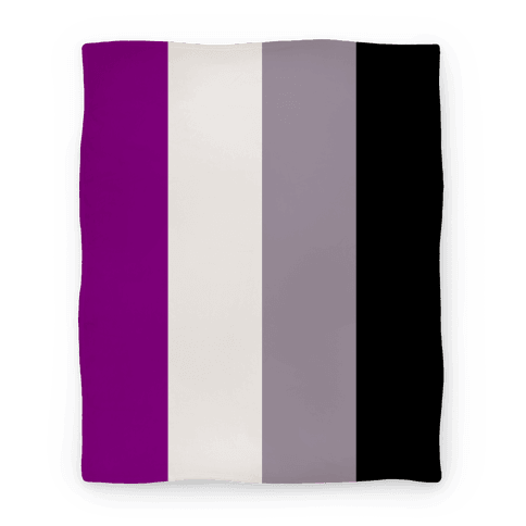 Asexual Flag Blanket Blanket