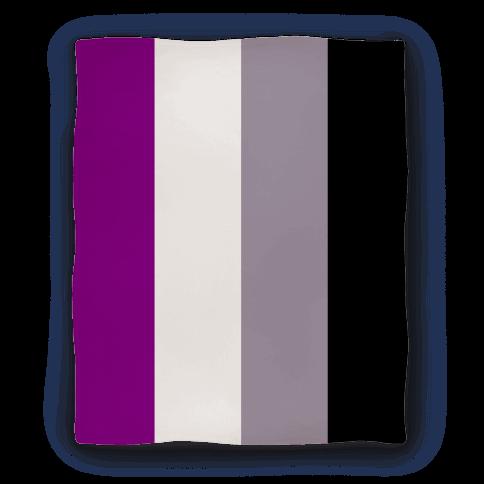 Asexual Flag Blanket Blanket