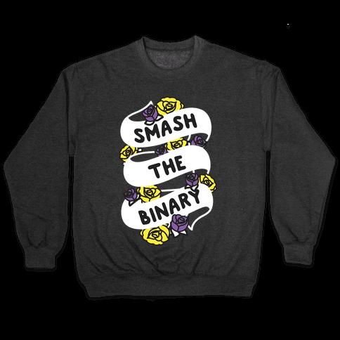 Smash The Binary Ribbon Pullover