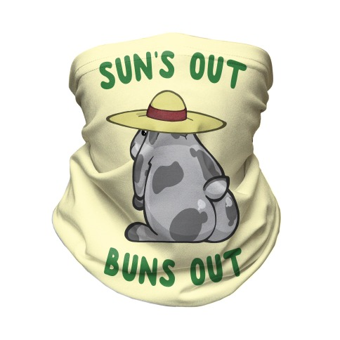 Sun's Out Buns Out Bunny Neck Gaiter