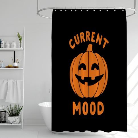 Current Mood: Halloween Shower Curtain