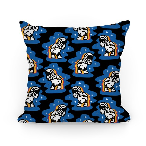 Asstronaut Pattern Pillow