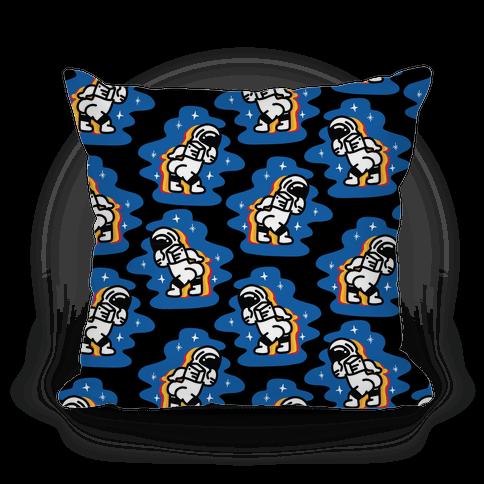 Asstronaut Pattern Pillow