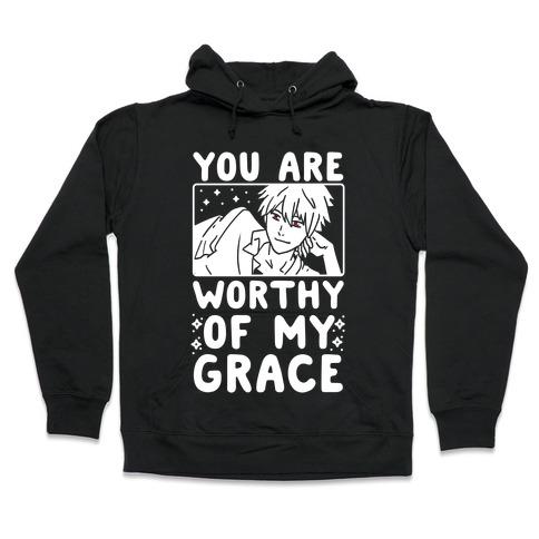 You Are Worthy of My Grace - Kaworu Hooded Sweatshirt