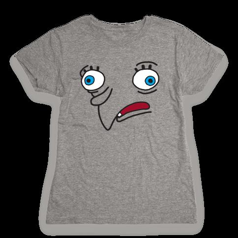 Mocking Sponge Meme Womens T-Shirt