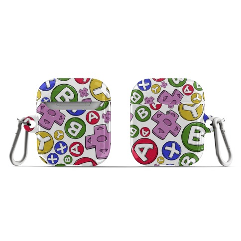 Video Game Controller Buttons Pattern AirPod Case