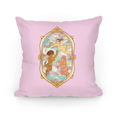 Modern Cherubs Pillow