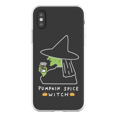 Pumpkin Spice Witch Phone Flexi-Case