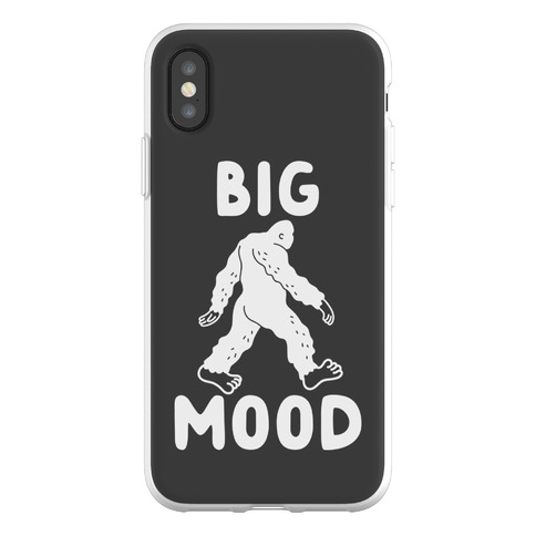 Big Mood Bigfoot Phone Flexi-Case