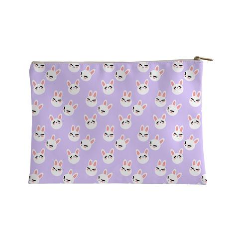 BunBun Pattern Lavender Accessory Bag
