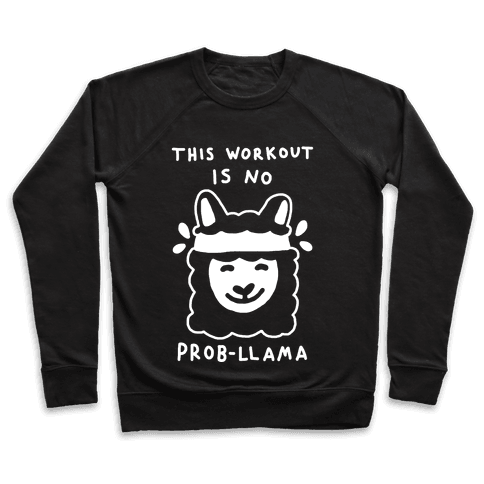 This Workout Is No Prob-Llama Pullover