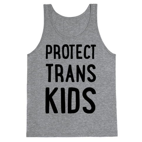 Protect Trans Kids Tank Top