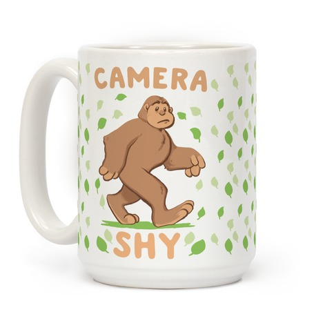Camera Shy Coffee Mug