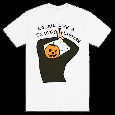 Lookin' Like A Snack-o-Lantern Mens/Unisex T-Shirt