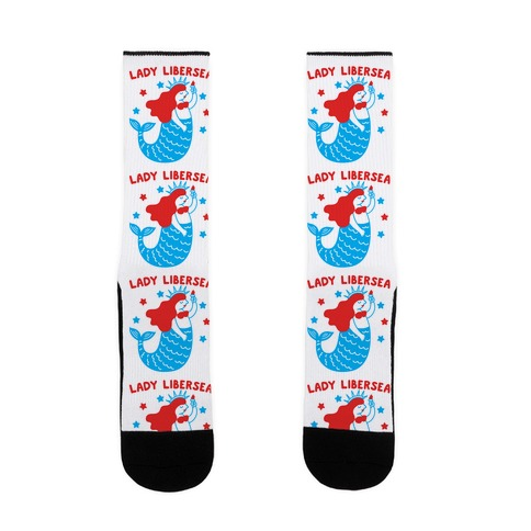 Lady Libersea Mermaid Sock