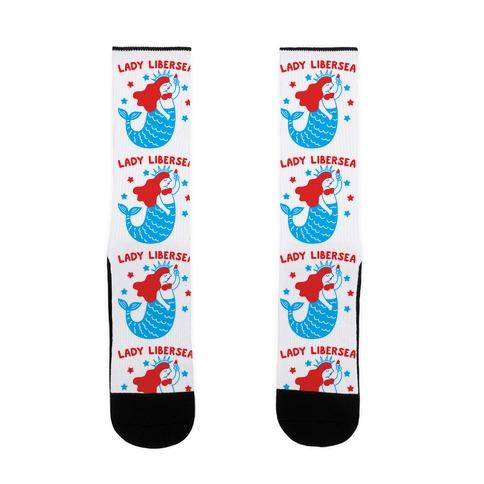 Lady Libersea Mermaid Sock
