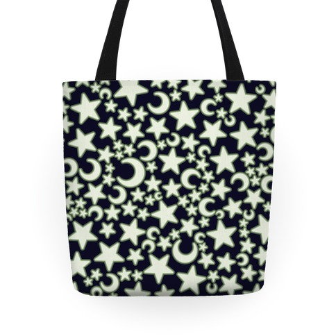 Ceiling Stars Pattern Tote