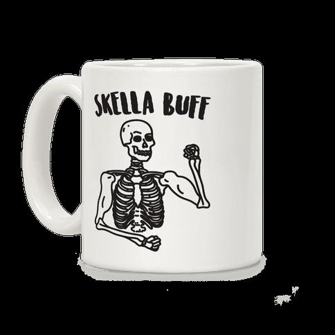 Skella Buff Skeleton Coffee Mug