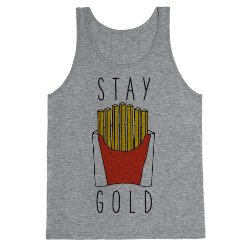 Stay Gold Fries Tank Top