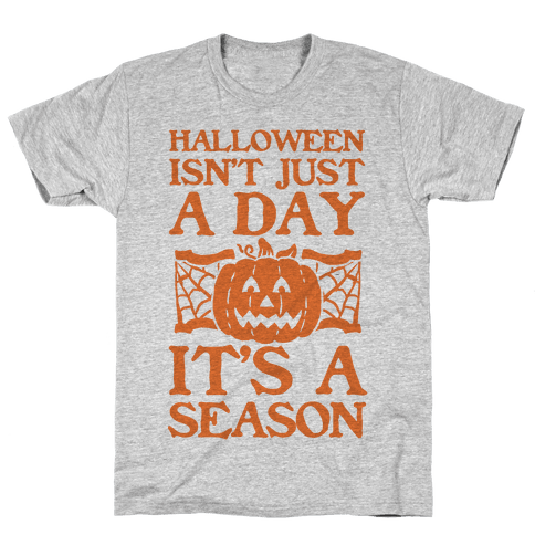 Halloween is a Season Mens T-Shirt