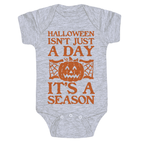 Halloween is a Season Baby Onesy