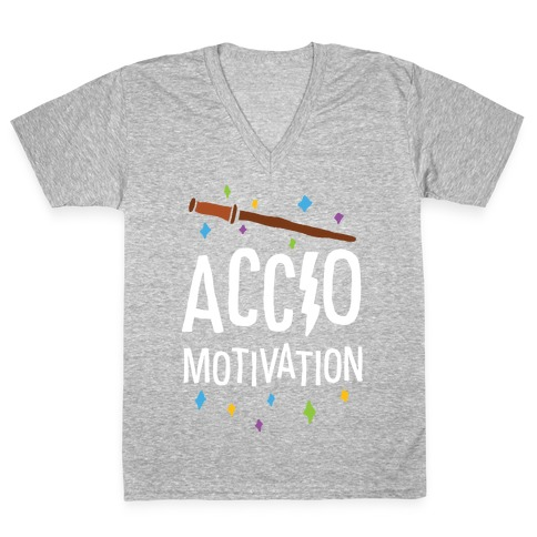 Accio Motivation V-Neck Tee Shirt