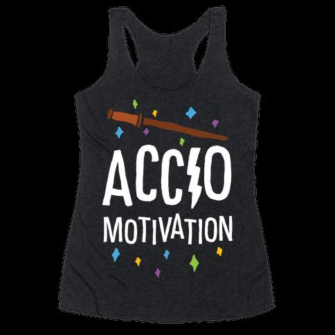 Accio Motivation Racerback Tank Top