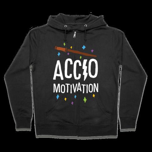 Accio Motivation Zip Hoodie