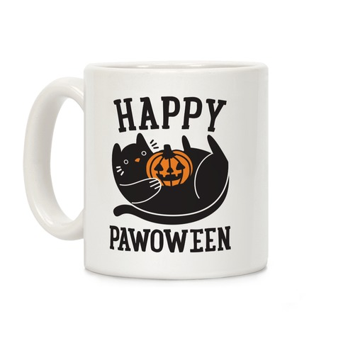 Happy Pawoween Coffee Mug