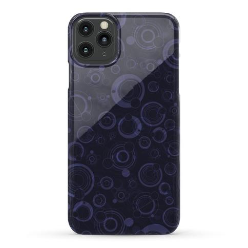 Gallifreyan Text Pattern Phone Case