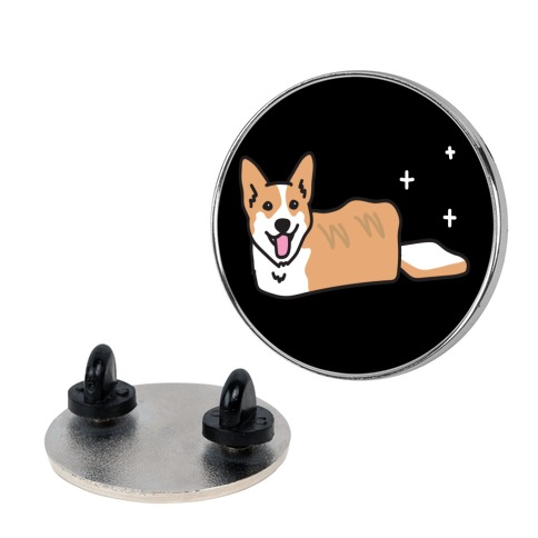 Corgi Dog Bread Pin