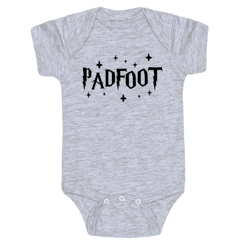 Padfoot Best Friends 2 Baby Onesy