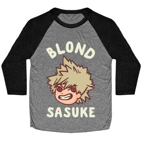 Blond Sasuke Baseball Tee