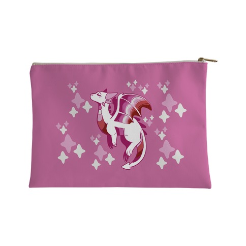 Lesbian Pride Dragon Accessory Bag