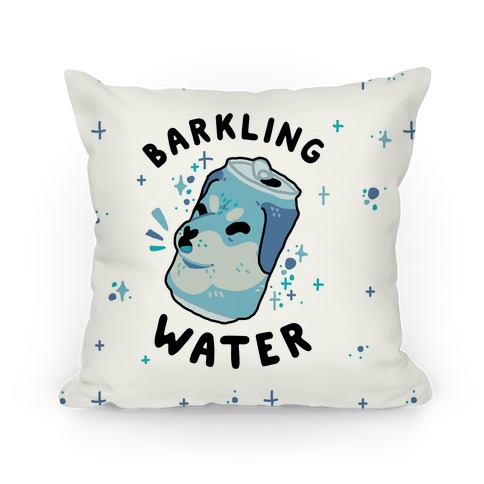 Barkling Water Pillow