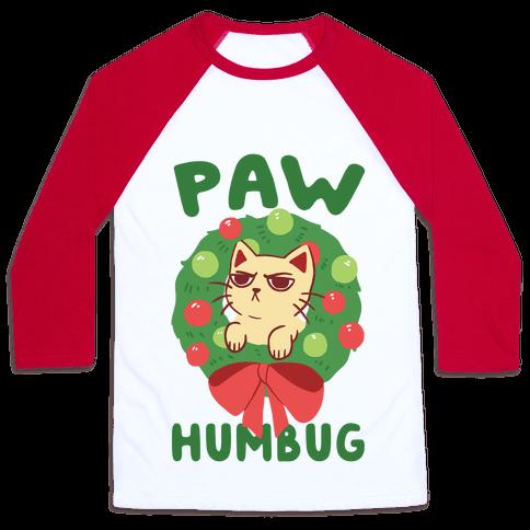 Paw Humbug  Baseball Tee